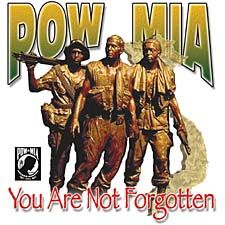 POW/MIA # Soldiers Not Forgotten T-Shirt